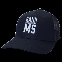 Band Against MS Navy Ballcap